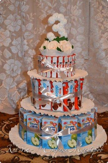 Тортик в детский сад на 20 человек. фото 1