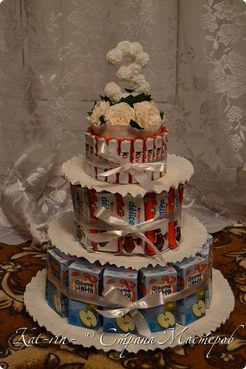 Тортик в детский сад на 20 человек. фото 4