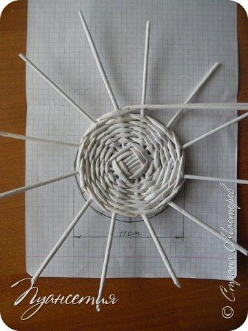 По просьбам показываю процесс создания  барышни - салфетницы. В ее создании мне помог мастер - класс африканки. Материалы и инструменты, необходимые для работы: трубочки из белой офисной бумаги,  клей ПВА,  нитки,  синтепон,  салфетки,  ножницы. фото 4