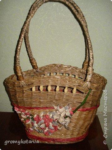 сумочка-корзиночка фото 1
