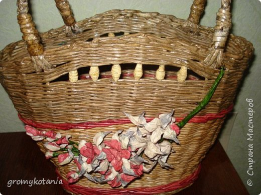 сумочка-корзиночка фото 2