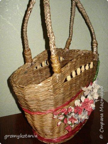 сумочка-корзиночка фото 4