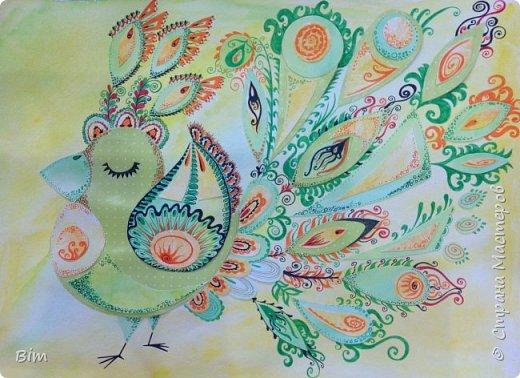 Самовлюбленная птичка