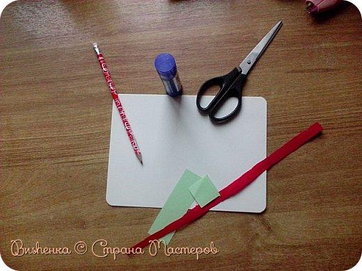 """Всем доброго времени суток! Сегодня я решила опять сделать аппликацию, на этот раз гвоздику. (Напоминаю кнгиа называется """"открытки и сувениры к праздникам"""" автора В. И. Новиковой) фото 3"""