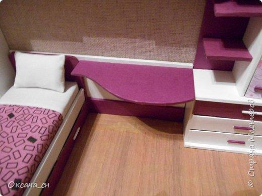 Привет всем! И снова я с игрушечной мебелью год спустя. Сегодня хочу представить мебель для девочки. Возможно кому-то понадобиться мастер-клас, потому постараюсь выложить более подробно и доступно. фото 37