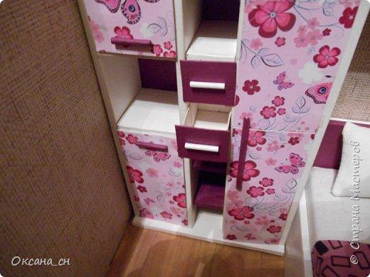 Привет всем! И снова я с игрушечной мебелью год спустя. Сегодня хочу представить мебель для девочки. Возможно кому-то понадобиться мастер-клас, потому постараюсь выложить более подробно и доступно. фото 39