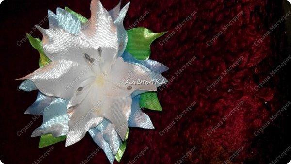 Цветочные заколки фото 4
