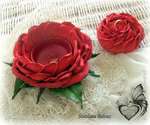 Для всех, кто любит и любим!  Оригинальный  подарок для дорогого Вам человека!Три в одном : символ вечной любви и красоты, необычная шкатулка с сюрпризом и неувядаемый цветок!Побалуйте своих любимых!!! фото 1