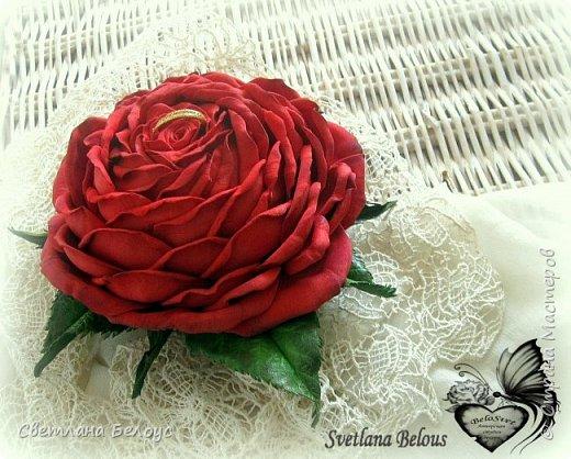 Для всех, кто любит и любим!  Оригинальный  подарок для дорогого Вам человека!Три в одном : символ вечной любви и красоты, необычная шкатулка с сюрпризом и неувядаемый цветок!Побалуйте своих любимых!!! фото 2