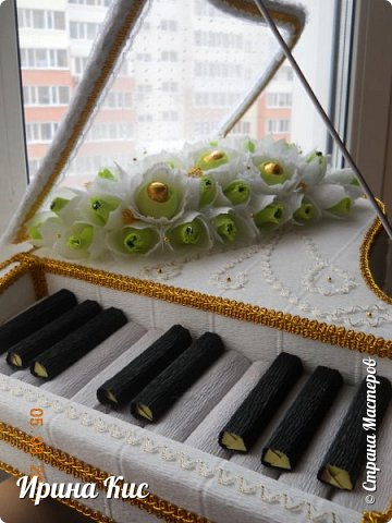 сделала наконец рояль, очень давно хотела, всё никак. Огромное спасибо Наталье Пецкус за МК! фото 2