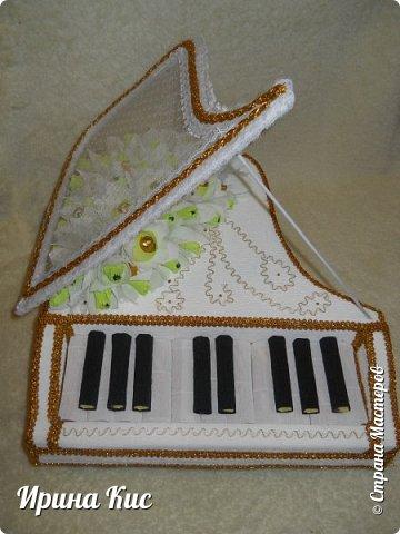 сделала наконец рояль, очень давно хотела, всё никак. Огромное спасибо Наталье Пецкус за МК! фото 4