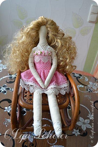 для меня она лучше всех ,моя первая куколка..я понимаю что есть на много кпасивей куклы,но эту сшила сама. фото 1
