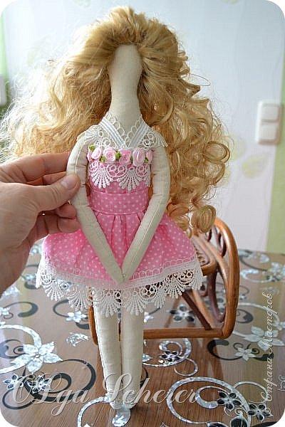 для меня она лучше всех ,моя первая куколка..я понимаю что есть на много кпасивей куклы,но эту сшила сама. фото 2