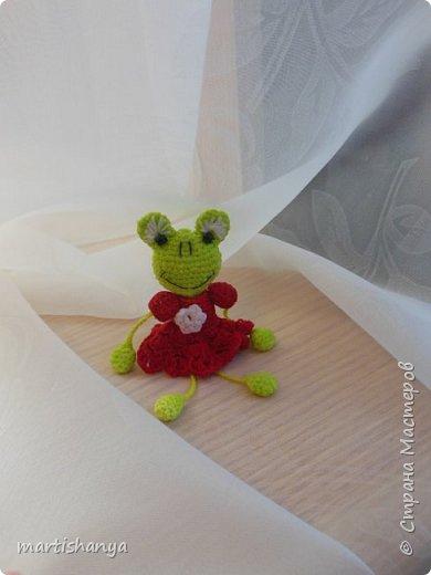 Лягушка вязалась без схемы, так сказать по зову сердца :)   фото 1