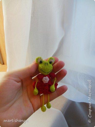 Лягушка вязалась без схемы, так сказать по зову сердца :)   фото 2