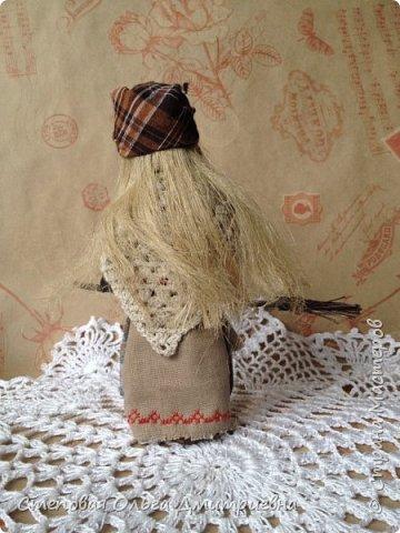 Кукла Баба Яга, рост 26 см. Волосы льняные. фото 5