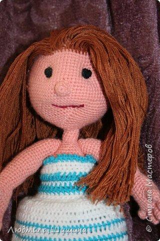 Добрый день! Вот такая куколка у меня получилась! фото 2