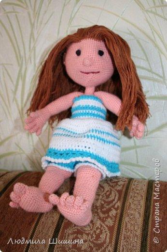 Добрый день! Вот такая куколка у меня получилась! фото 3