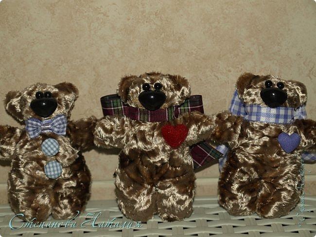 Добрый день! Пошились у меня вот такие мимимишки)))) Жалею, что сразу не начала шить маленьких! Ну получилась медведица и медвежата. Спасибо Ларисе за материалы, Лора посмотри что получилось)))) фото 3
