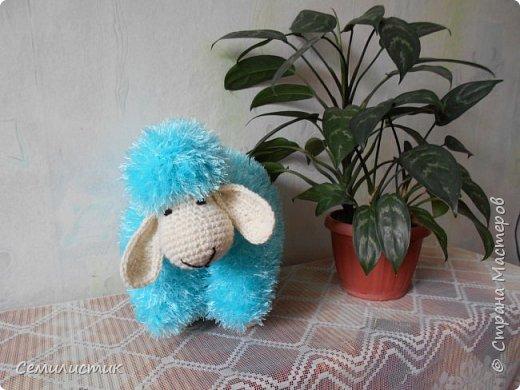 Доброе время Страна!!!!!   Насмотревшись у Амишки09  http://stranamasterov.ru/user/128652  вязаных барашков, захотелось связать.....  Вот такой получился задумчивый.... фото 4