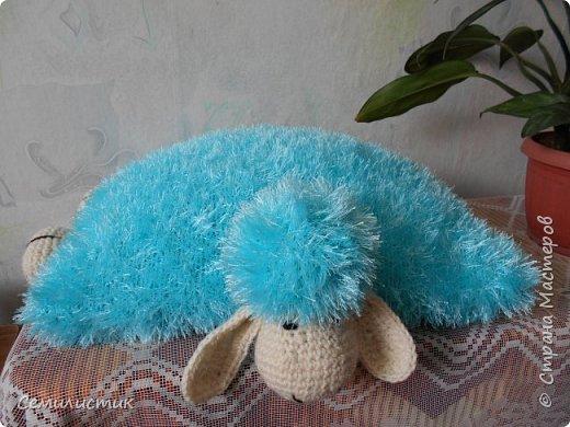 Доброе время Страна!!!!!   Насмотревшись у Амишки09  http://stranamasterov.ru/user/128652  вязаных барашков, захотелось связать.....  Вот такой получился задумчивый.... фото 3
