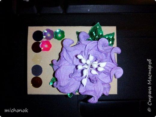 """мои первые работы в этом году открытку делала для игры """"Стрелы Амура"""", посылку отправляла давно, скорее всего она уже  пришла, так что думаю, что я вполне могу выложить содержимое сюда. фото 9"""