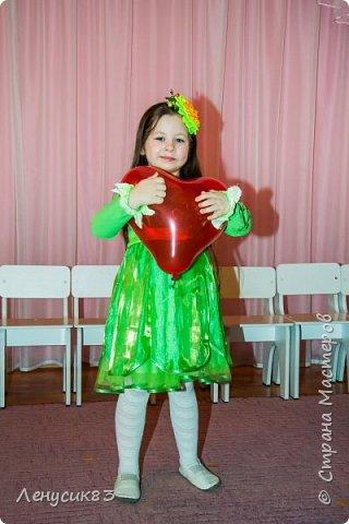 Делала дочурке в садик к 8 марта на утренник ободок. Получился яркий и красивый фото 9
