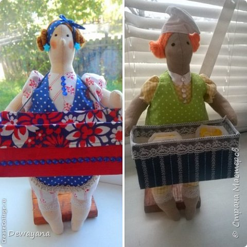 Это куколки чаевницы. Их очень любят мои гости))Любят чтобы я их им дарила)) фото 1