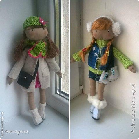 Мое самое большое увлечение - куклы. Часть из них занимают полки в комнате у дочи, часть раздарена, а часть отдана на благотворительную Ярмарку в помощь больным деткам. Все образы придумываю по ходу ... Итак начнем- принцессы на горошине (мои любимые) фото 2