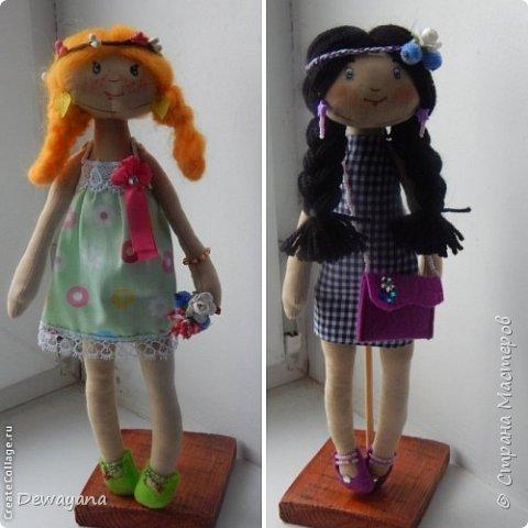 Мое самое большое увлечение - куклы. Часть из них занимают полки в комнате у дочи, часть раздарена, а часть отдана на благотворительную Ярмарку в помощь больным деткам. Все образы придумываю по ходу ... Итак начнем- принцессы на горошине (мои любимые) фото 3