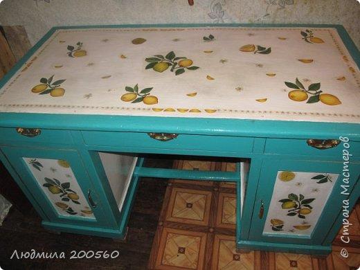 Вместительный стол для дачи. Подробный МК.