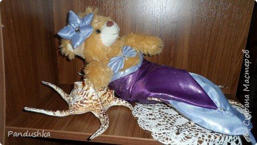 Да, случилось неожиданное, Дуся смутировала и теперь она - Русалка! И кто сказал, что русалки - полурыба - получеловек? Этот кто-то когда либо видел русалок? Посмотрите, русалка -  это полумедведь! фото 1