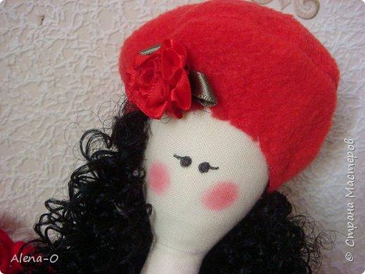 Всем доброго воскресного дня! Вот такая куколка у меня сшилась сегодня :) Буду благодарна за просмотр, замечания и советы! :)  фото 2