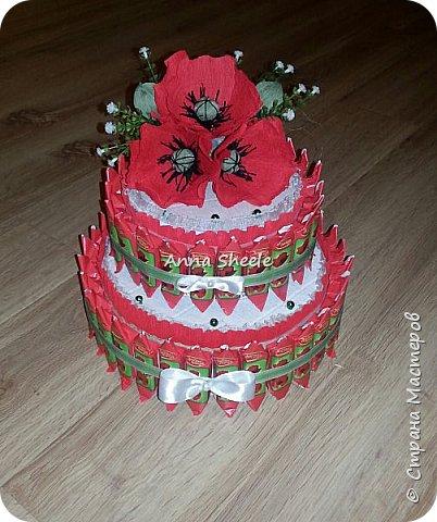 Маковый тортик шкатулка фото 1