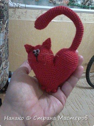 Очень красивый котик получился))))Рост этакого маленького счастья 12 см примерно. фото 3
