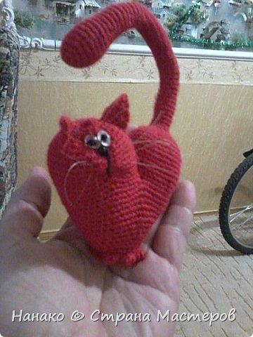Очень красивый котик получился))))Рост этакого маленького счастья 12 см примерно. фото 2