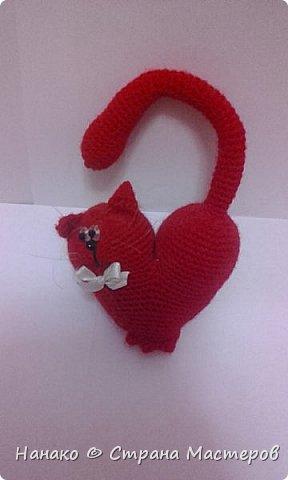 Очень красивый котик получился))))Рост этакого маленького счастья 12 см примерно. фото 1
