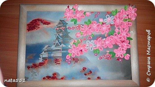 И снова подарочек учителю по окончанию практики. Я безумно люблю Японию, и все что с ней связано. Не смогла удержатся, и вот такая работка у меня получилась.  фото 1