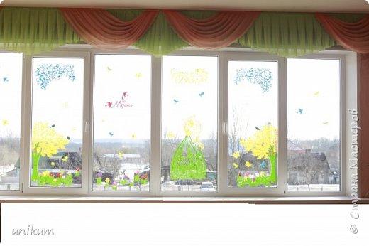 Наши окна этого года. Спасибо Михеевой Е.  за ее творчество. фото 4