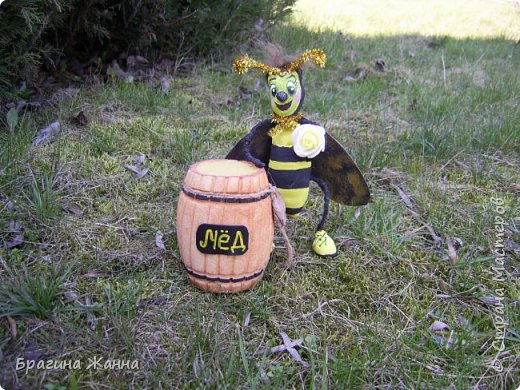 Всем жителям замечательной страны огромный привет!!!!!сегодня я к вам со своей пчелкой труженицей ))))она целый бочонок набрала меда))))вот так труд!и так приглашаю вас всех на чашечку чая с медом)))))))))))))))))))))))))))))Будьте здоровы!!!!!!!!!!!!!!!!!!! фото 5