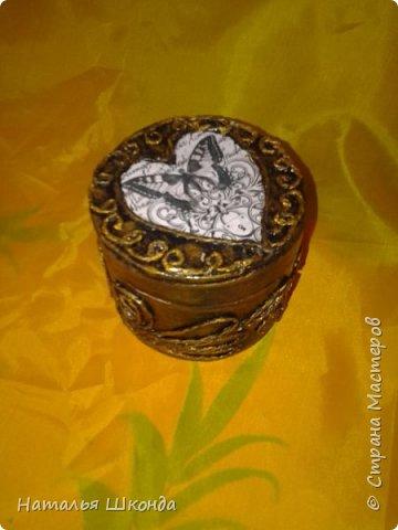 шкатулочки из бобин от ленолема (много фото) фото 16