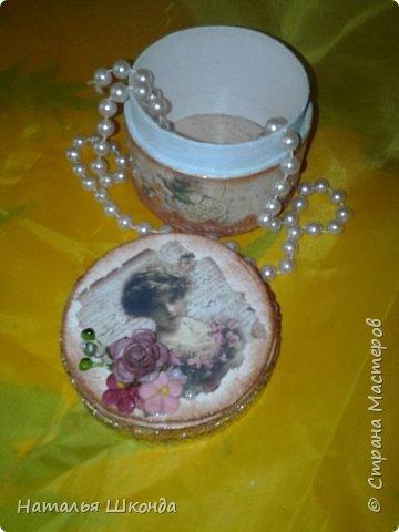 шкатулочки из бобин от ленолема (много фото) фото 12