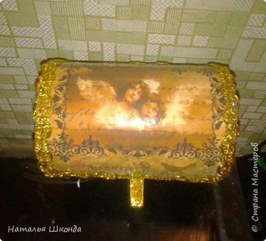 шкатулочки из бобин от ленолема (много фото) фото 9