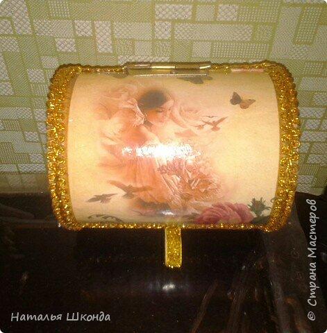 шкатулочки из бобин от ленолема (много фото) фото 10