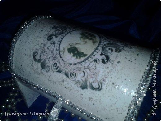 шкатулочки из бобин от ленолема (много фото) фото 3