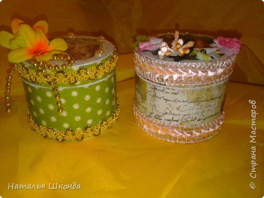 шкатулочки из бобин от ленолема (много фото) фото 19