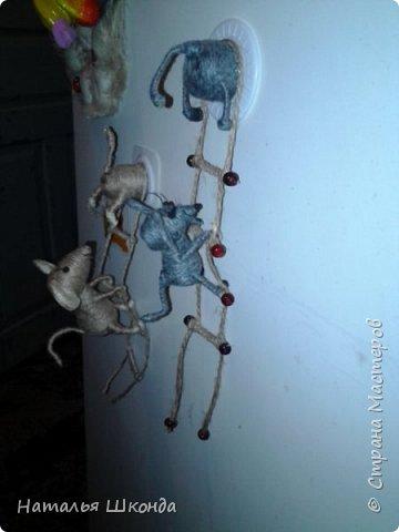 Давно хотела сделать таких мышек, вот решилась, вроде бы всё просто, но, неожиданно, долговато... фото 6
