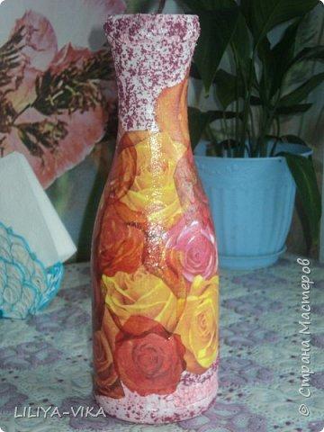 ваза незабудки фото 3