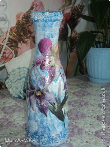 ваза незабудки фото 2