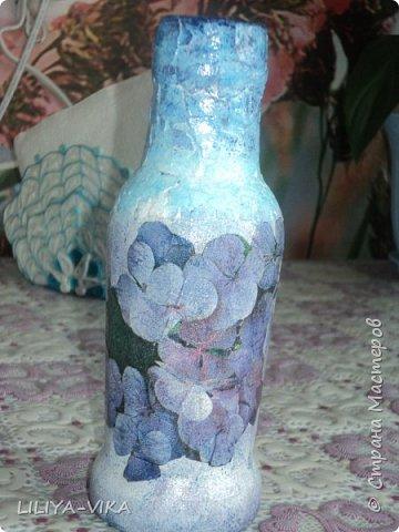 ваза незабудки фото 1